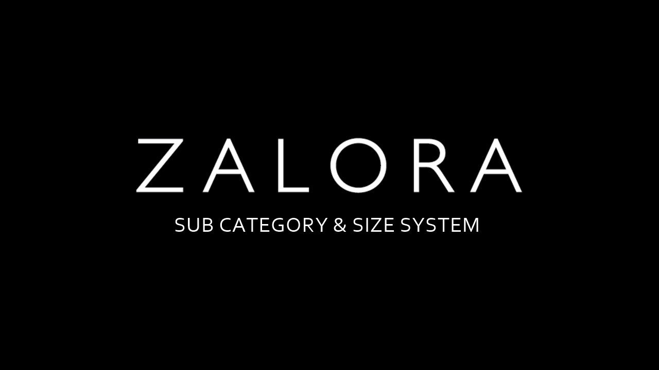 Sub Category and Size System