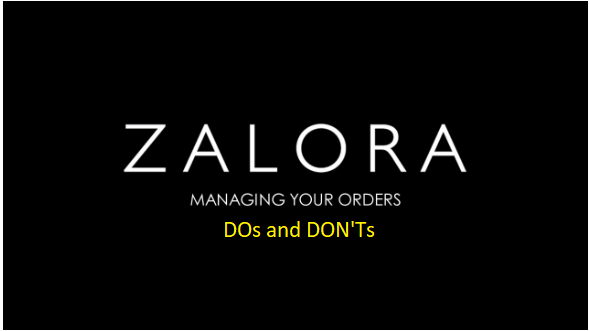 Manage Your Order